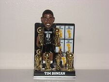 TIM DUNCAN San Antonio Spurs Bobble Head Trophy & Legacy Series Edition New*