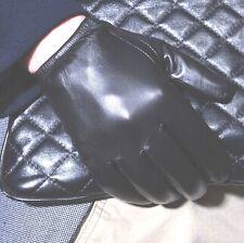 Nuovi uomini della polizia Guanti tattici,100% reale nero / marrone Guanti pelle
