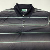 Ben Hogan Performance Golf Polo Shirt Men's 2XL Short Sleeve Green Black White
