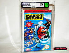 Mario's Time Machine Nintendo NES Brand New Sealed VGA 85 Mint Condition