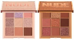 Authentic Huda Beauty Nude Eyeshadow Palette - 3 Shades Available - New & Boxed
