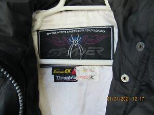 Ladies Spyder Snow Ski Suit 1 Pcs. Size 6 Black/White Nice Suit Snow Bunny
