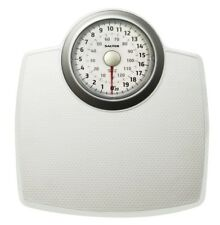 Salter Bathroom Scales with Extended View - Mechanical Weight Scale - White