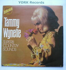 TAMMY WYNETTE - Superb Country Sounds - Ex Con LP Record Embassy EMB 31023