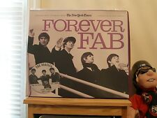 """BEATLES - NEW YORK TIMES NEWS PAPER - """"FOREVER FAB - """"NEVER OPEN"""" - """"VERY RARE"""""""