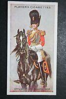 1st Life Guards      Original 1912 Vintage Uniform Card  VGC