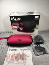iHome iP37 Portable Speaker & Docking Station for iPhone (JVB)