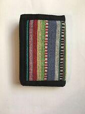Handmade Eco Friendly Cotton Fold Wallet Card Holder Coin Purse Nepal HP32