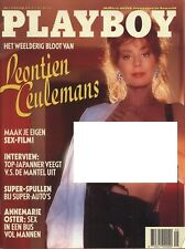 Dutch Playboy Magazine 1991-02 Brittany York, Leontien Ceulemans ...