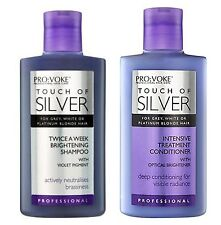 TOUCH OF SILVER Silver Reflex Shampoo & Intensive Conditioner 150ml each