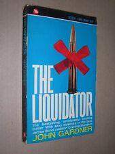 THE LIQUIDATOR. JOHN GARDNER. 1965 CORGI CRIME PAPERBACK EDITION
