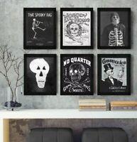 8x10 PRINT SET Vintage Halloween Vintage Halloween Vintage Halloween Decoration