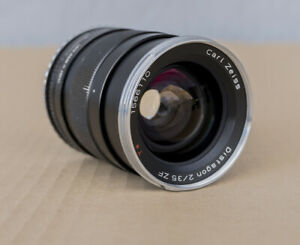 Carl Zeiss Distagon 2/35 ZF 35mm Lens for Canon