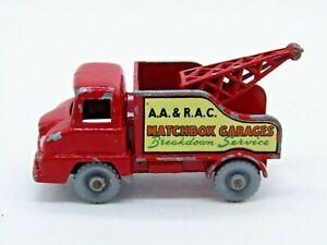 Matchbox Lesney No.13c Ford Thames Trader Wreck Truck - GPW