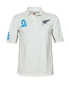 NEW Official New Zealand Blackcaps Mens Test Shirt