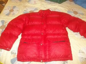 The North Face Sierra Brown Label Goose Down Jacket Puffer Vintage Nuptse USA M
