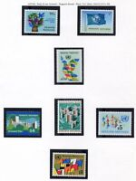19310) UNITED NATIONS (Vienna) 1979 MNH** Definitives 7v