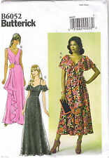 Easy Princess Seam Flounce Dress Casual Cocktail Sewing Pattern 14 16 18 20 22