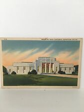 PC AQUARIUM TEXAS CENTENNIAL EXPO Building Dallas Texas TX PC 1947