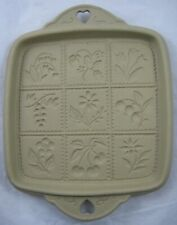 More details for brown bag cookie art - 1988 hill design - square shortbread cookie biscuit mould