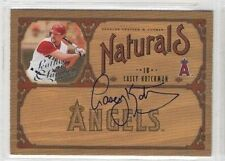 Casey Kotchman 2005 Leather and Lumber Naturals signed auto autographed card