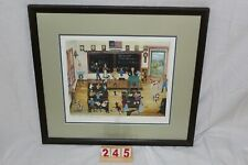 """""""School Daze"""" print  by Will Moses with COA"""