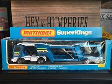 Matchbox Super Kings K-10D1.Version mint OVP excellent from 1981