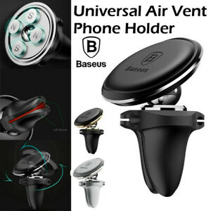 1x Magnetic Dock Genuine Baseus Car Mount Phone Holder Air Vent Phone GPS Stand