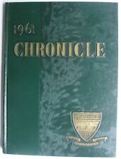 MARY INSTITUTE 1961 CHRONICLE YEARBOOK ST LOUIS MISSOURI LADUE MICDS