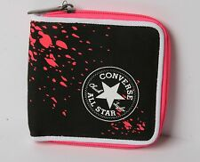 Converse Zipped Out Wallet (Black)