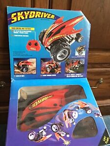 1997 KENNER XRC R/C SKYDRIVER  9.6V 27mHz Red Radio Controlled Race Car