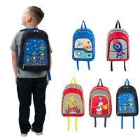 New SumacLife Kids Boys Girls Personalised Pattern Backpack Rucksack School Bag