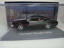 Chevrolet Chevelle (1970) Escala 1/43 Colección Coches Americanos