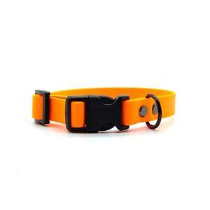 Orange BioThane® Standard Adjustable Collar
