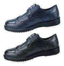 Zapatos Oxford Hombre Class Azul Negro Elegantes Calzado Ecopiel Mans' Zapatos