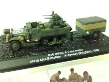 1/72 M16 MGMC & 1 TON-TRAILER ARDENNES BELGIUM 1945 WWII TANQUE  TANK ALTAYA