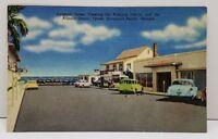 Savannah Beach Georgia 16th Street Business District Atlantic Ocean Postcard B1