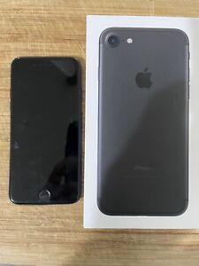 APPLE iPHONE 7 128GB BLACK  UNLOCKED BOX