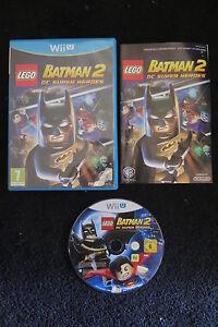 WII U : LEGO BATMAN 2 : DC SUPER HEROES - Completo, ITA ! Gioca con i supereroi