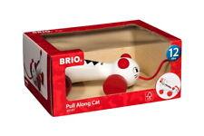 Brio Kleinkindwelt Holz Nachziehspielzeug Nachzieh Katze 30187