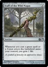 MTG 1x Staff of the Wild Magus 2014 card Magic The Gathering Commander Pauper