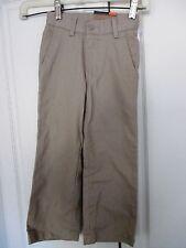DOCKERS~Khaki CLASSIC FIT PANTS~Adjustable Waist~Boys Size Small 4 Slim~NWT