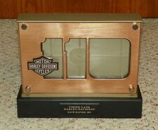 HARLEY DAVIDSON 110th Anniversary Light-up Double-sided Picture Frame