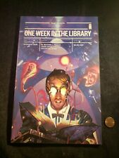 """""""ONE WEEK IN THE LIBRARY"""" ~IMAGE COMICS, INC~ PAPERBACK GRAPHIC NOVEL // NEW"""