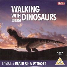 WALKING WITH DINOSAURS - EPISODE 6 - DEATH OF A DYNASTY - PROMO DVD (BBC 1998)