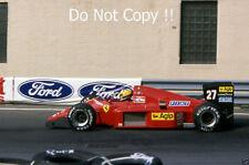Michele Alboreto Ferrari F1/87 GRAN PREMIO degli Stati Uniti d'America-EST 1987 fotografia 4