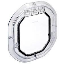 Pet Tek Large Glass Fitting Dog Door - Clear