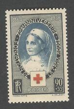 Timbre neuf sans charnière - N°422 Croix rouge - 1939 -TB