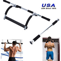 "Doorway Chin Up Bar Pull Up Exercise 24-39"" Doors Home Gym Exercise Strength US"
