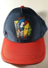 Marvel Avengers Baseball Hat/Cap Snapback Kids W/Thor Captain-A IronMan Hulk New